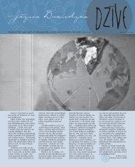 Septembra izdevums - Rīgas ev. lut. Jēzus draudze
