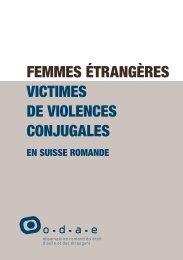 FEMMES ÉTRANGèRES VICTIMES DE VIOLENCES ... - ODAE