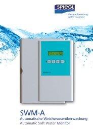 Automatische Weichwasserüberwachung Automatic ... - Spiegl GmbH