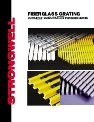 Fiberglass Grating Brochure 0901 - Fiberman