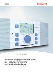 Mit Smile Regelgeräten SDC/DHC für Heizung, Fernwärme und ...