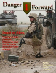 Dead or Alive - Fort Riley,  KS  - U.S. Army