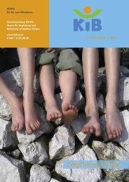 Kinder brauchen Zeit zum Gesundwerden! - KiB Children Care