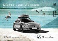 125 estati in viaggio con le emozioni. - video - Mercedes-Benz Italia