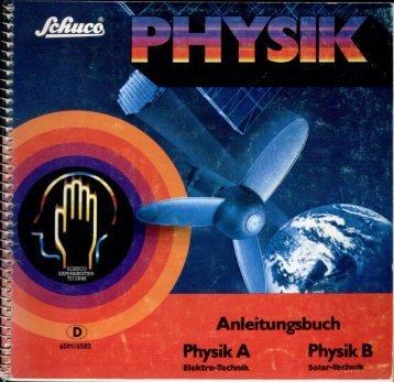 Page 1 Physik B Elektro-Technik A .kl S .W P 6501/6502 Page 2 ..._ ...