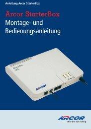 Montage- und Bedienungsanleitung Arcor  StarterBox - Sphairon