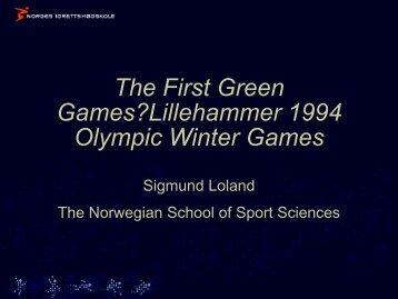 Mr. Sigmund Loland