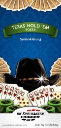 em Poker - Spielbanken Niedersachsen Gmbh