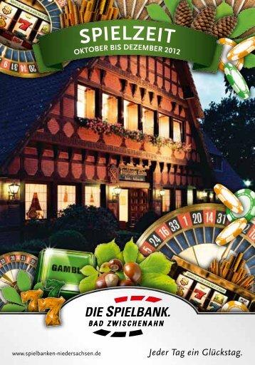 Dezember 2012 - Spielbanken Niedersachsen Gmbh