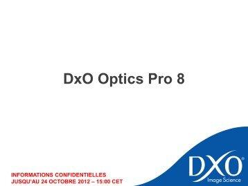 Correction - DxO Labs