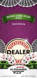 Spielerklärung Seven card Stud poker - Spielbanken ...