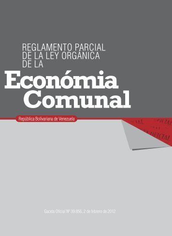 Reglamento de la Ley Organica del Sistema Económico ... - MinCI