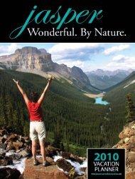 2010 Jasper Vacation Planner