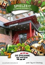 spielzeit - Spielbanken Niedersachsen Gmbh