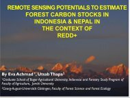 remote sensing potentials to estimate forest carbon stocks in ...