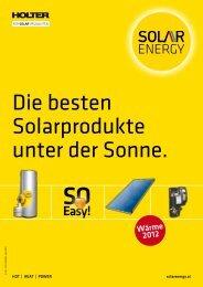 Die besten Solarprodukte unter der Sonne. - SEG Solar Energy GmbH