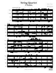 Finale 2004b - [String Quartet 1.MUS] - Zuckerman, Mark
