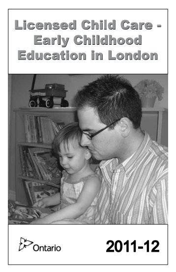 Child Care - Early Childhood Education in London - Thehealthline.ca