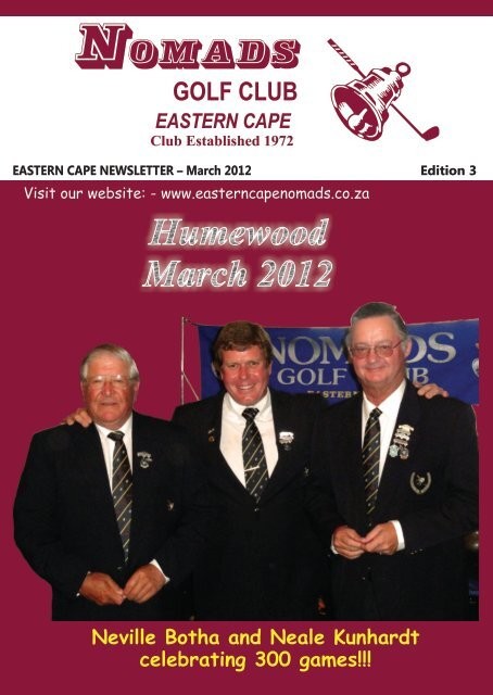 Nomads March2012.pdf - Eastern Cape