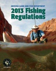 Arizona Fishing Regulations - Arizona Game and Fish Department