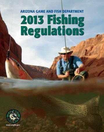 Arizona Fishing Regulations - Arizona Game and Fish Department