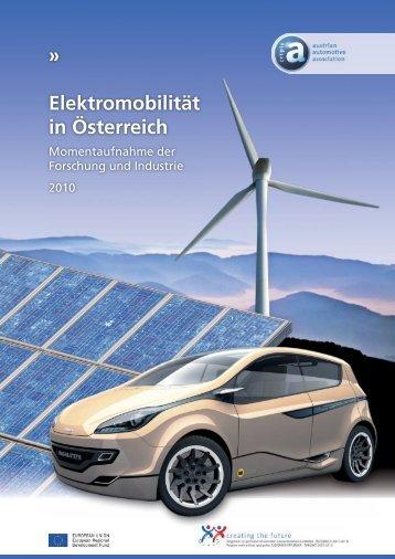 Elektromobilität in Österreich - Automobil Cluster