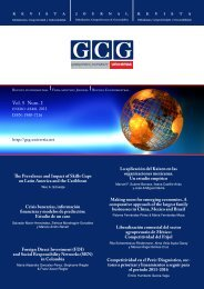 Vol. 5 Num. 1 - GCG: Revista de Globalización, Competitividad y ...