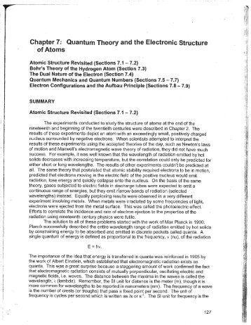 structure of chapter 7 of the Chapter 7 the structure of cognitive maps: representations and processes in addition, the three general problems discussed in the chapter are (1) describing the internal representation of space as acquired from physical representations that are also spatial in nature, such as maps, (2) describing the representations.