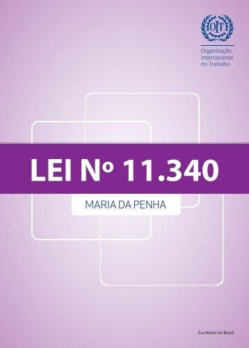 Cartilha com a Lei Maria da Penha - Organização Internacional do ...