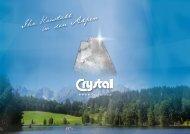 Werfen Sie einen Blick in unseren Sommerprospekt! - Hotel Crystal