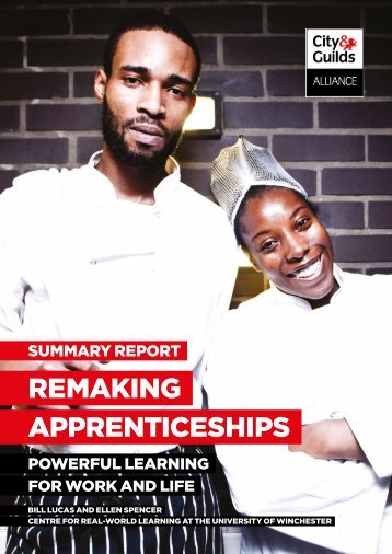 Remaking Apprenticeships pdf