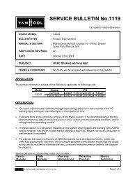 SERVICE BULLETIN No.1119 - ABC Companies