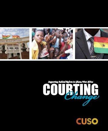 Courting Change - Cuso International
