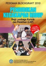 Pedoman PKH LKP - Info Kursus