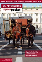 St. peterSburg - In Your Pocket GmbH