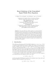 Exact Solutions of the Generalized Equal Width Wave Equation