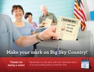 Make your mark on Big Sky Country! Thanks for ... - Element L Design