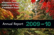 Annual Report - The Arboretum Foundation