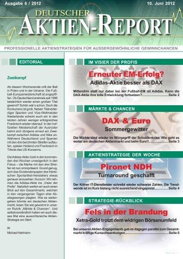 Erneuter EM-Erfolg? - Deutscher Aktien-Report