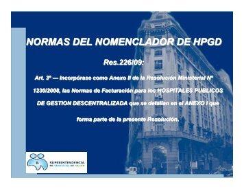 02-Nomenclador y Normas Fact Oct 2010-1 - Superintendencia de ...