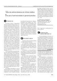 Uso de antimicrobianos em clínica médica.pmd - AMRIGS