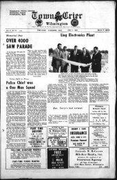 OVER 4000 SAW PARADE - Wilmington Town Crier