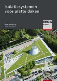 Isolatiesystemen voor platte daken - Foamglas