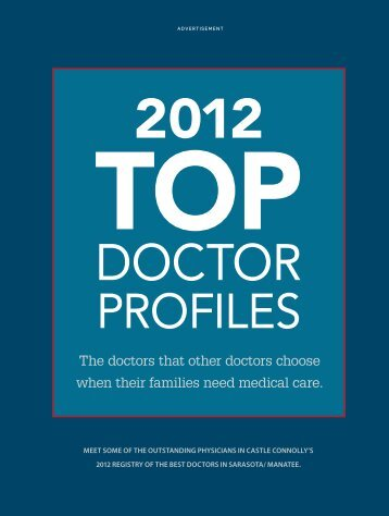 The doctors that other doctors choose when their families need ...