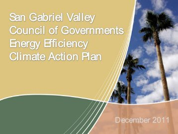 Climate Action Plan - City of Pomona