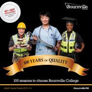 Adult Course Guide 2013-14 - Bournville College