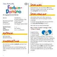 Farben Domino Anleitung ZW