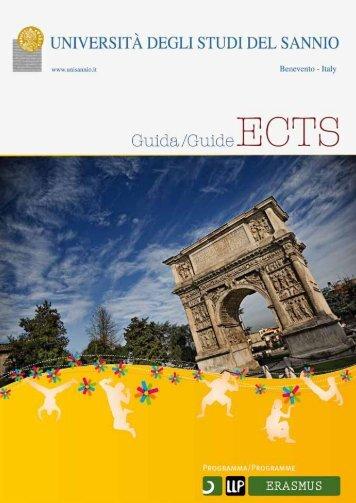 Guida ECTS - Università degli Studi del Sannio