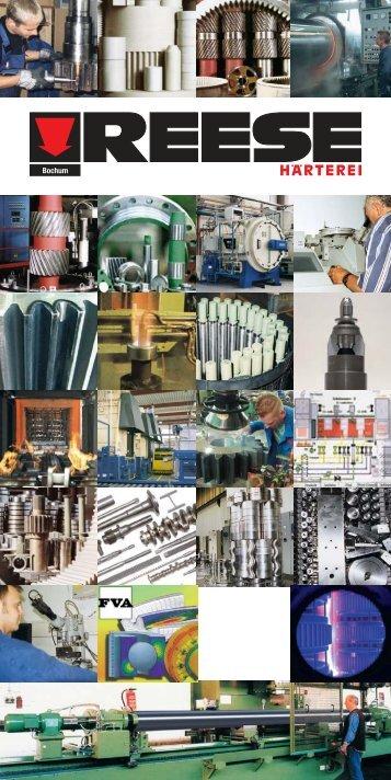Deutsche Ausgabe - Härterei Reese Bochum GmbH
