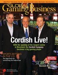 SPORTS BETTING IN THE U.S. - The Cordish Companies